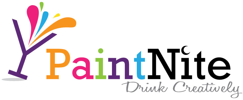 PaintNite Logo White