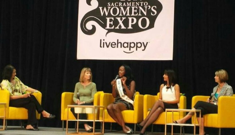 Sacramento Women's Expo Panel Discussion Tina Macuha